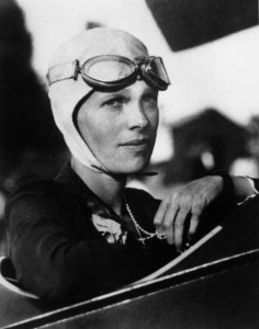 Amelia Earhart - Photo courtesy of General Aviation News