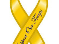 support our troops yellow ribbon photo-2