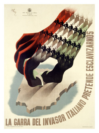 Spanish Civil War propaganda poster (Photo courtesy SpanishCivilWarPosters.com)