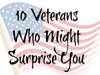 10 Veterans Who Might Surprise You