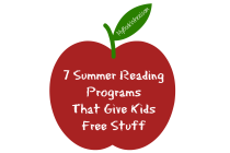 7 Summer Reading Programs That Give Kids Free Stuff