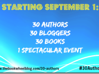 Announcement: 30 Authors in 30 Days