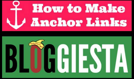 Bloggiesta Mini-Challenge: Anchor Links