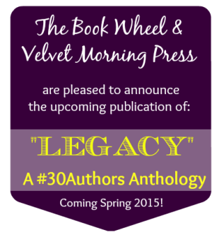 Announcement! #30Authors Is Going to Be a Book!