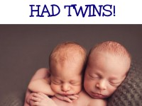 Love At First Book Had TWINS! (Photos)