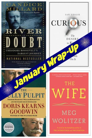 January Wrap-Up: Non-Fiction Madness!