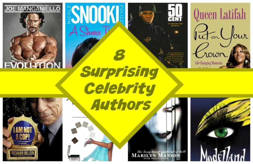 8 surprising celebrity authors