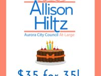 I'm Old Enough to Run for President and I'm running for Aurora City Council!