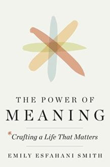 In the Quest for Happiness, Do We Forgo the Power of Meaning?